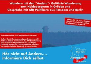 Geführte Wanderung - Blick über die Landesgrenze @ Oberer Gasthof in Hirschfeld