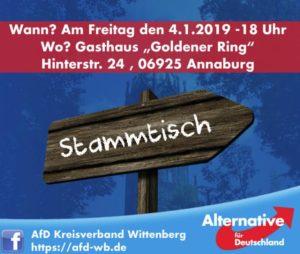 Stammtisch Annaburg @ Gasthaus Goldener Ring