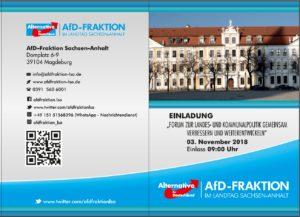Kongress zur Landes- und Kommunalpolitik @ Landtag von Sachsen-Anhalt