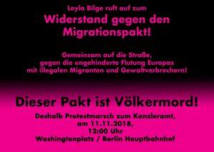 Widerstand gegen den Migrationspakt! @ Washingtonplatz / Berlin Hauptbahnhof   Berlin   Berlin   Deutschland
