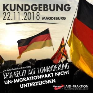 Kundgebung in Magdeburg @ Domplatz (vor dem Landtag)