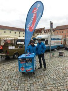 AfD vor Ort - unterwegs in Wittenberg! @ Wochenmarkt Arsenalplatz