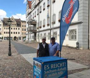 AfD vor Ort - in Wittenberg! @ Altstadt Luth- Wittenberg