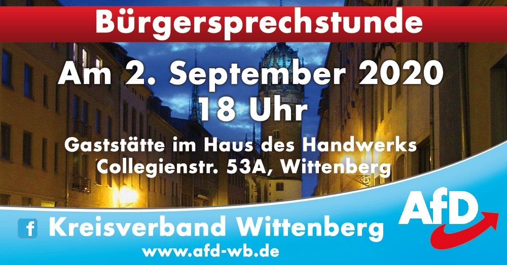 Bürgersprechstunde in Wittenberg @ Gaststätte im Haus des Handwerks