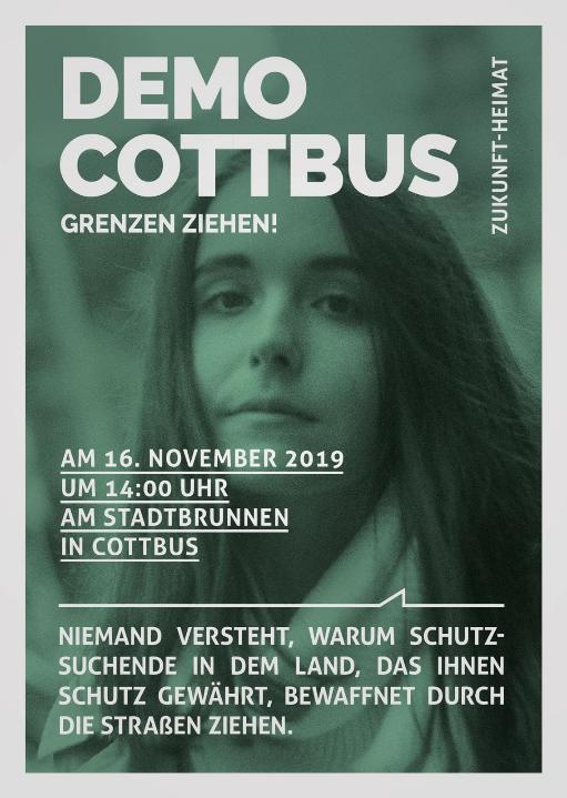 Demo Cottbus - Blick über die Landesgrenze @ Am Stadtbrunnen