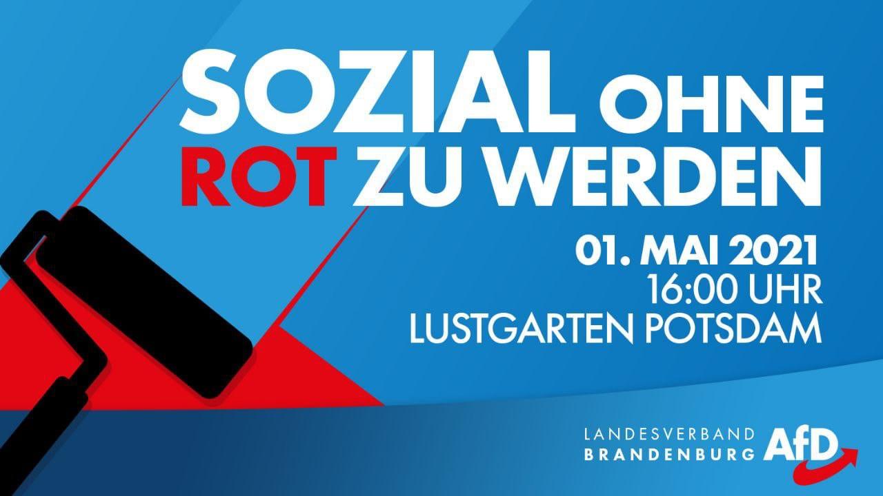 Sozial ohne Rot zu werden - Blick über die Landesgrenze @ Lustgarten Potsdam