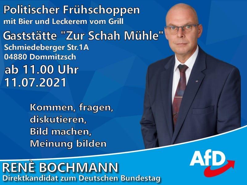 """Politischer Frühschoppen - Blick über die Landesgrenze @ Gaststätte """"Zur Schah Mühle"""""""