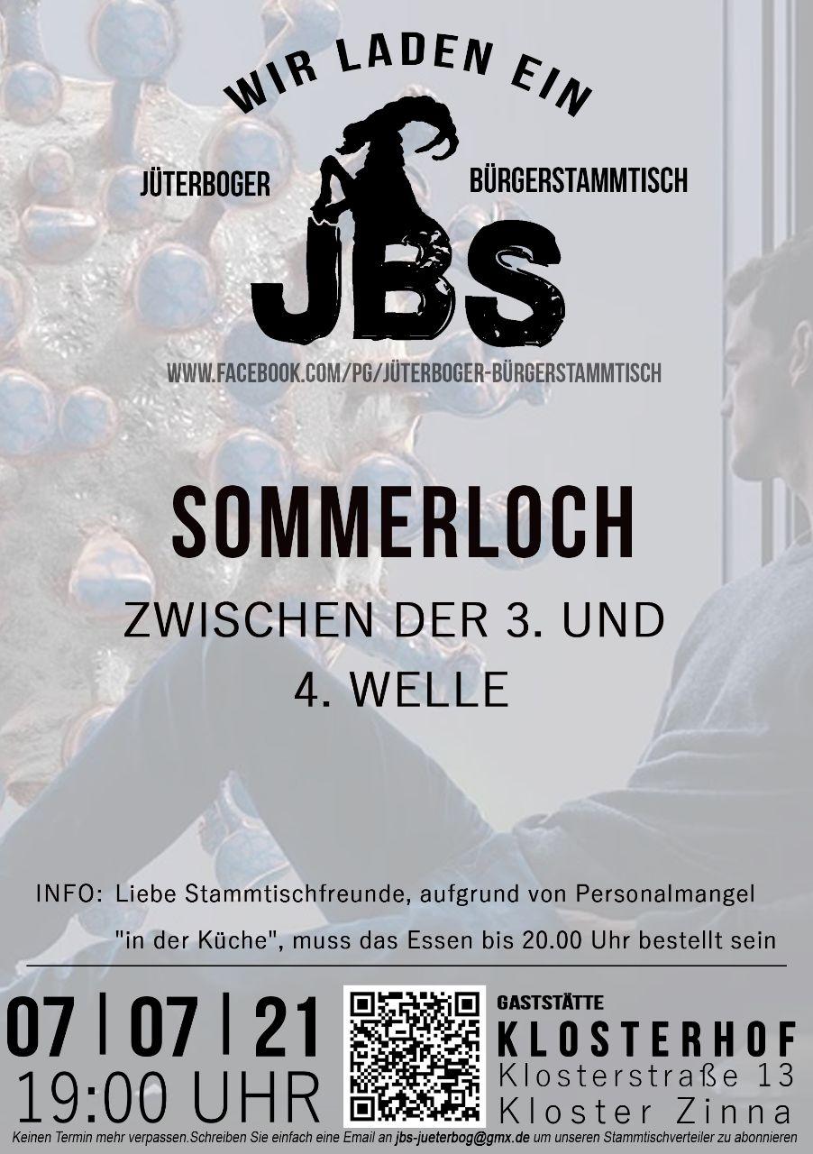 Neues vom JBS - Blick über die Landesgrenze @ Gaststätte Klosterhof